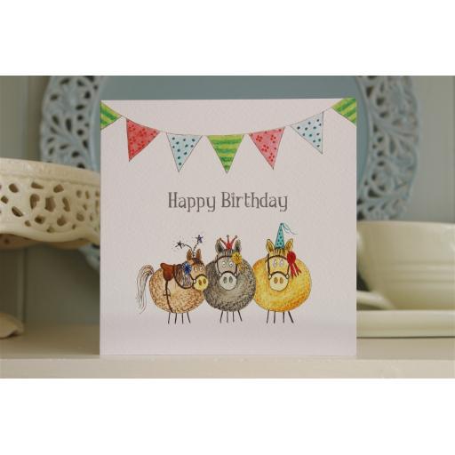 BG18 Happy Birthday Ponies