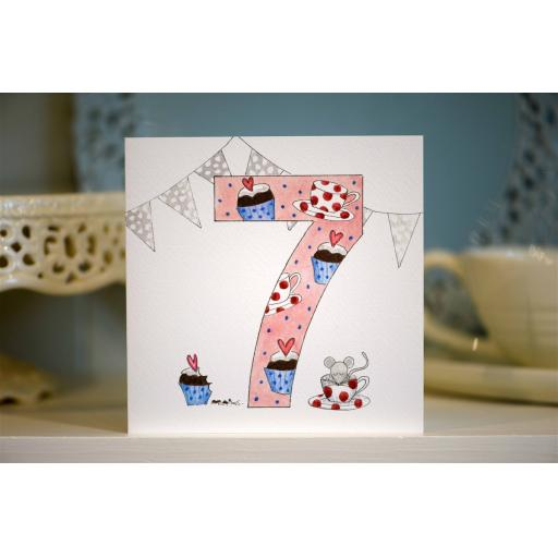 BG7 Girl's No.7 Teatime
