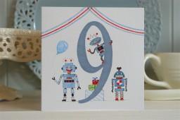 BB39  Boys No.9 Robots