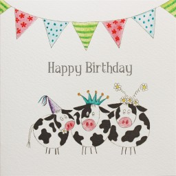 BG16  Happy Birthday Cows