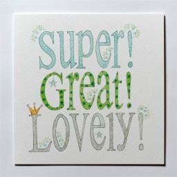 G2  Super Great Lovely