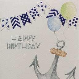 BB14  Happy Birthday Anchor