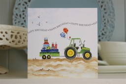 BB13  Happy Birthday Tractor