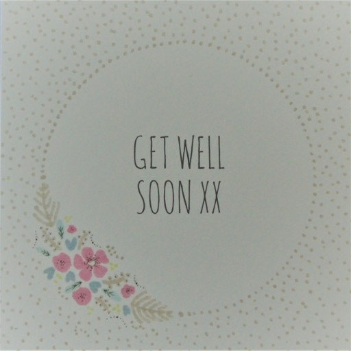 GWS2  Get Well Soon xx