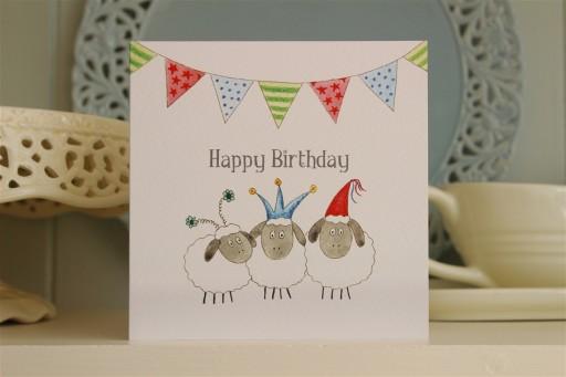 BG17  Happy Birthday Sheep