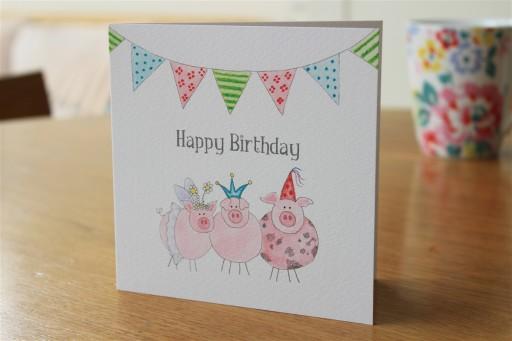 Happy Birthday Pigs