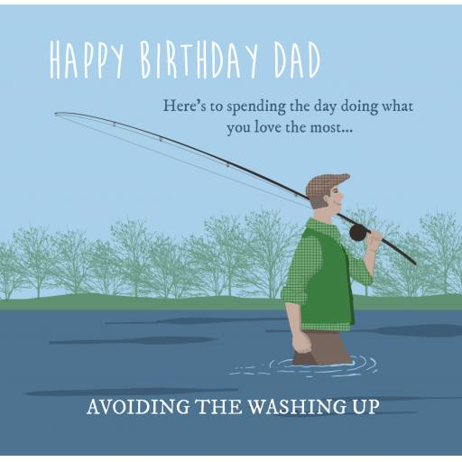 D2 Dad Fishing Birthday