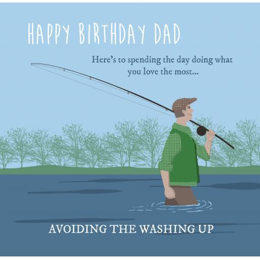 D2 Dad Fishing Birthday