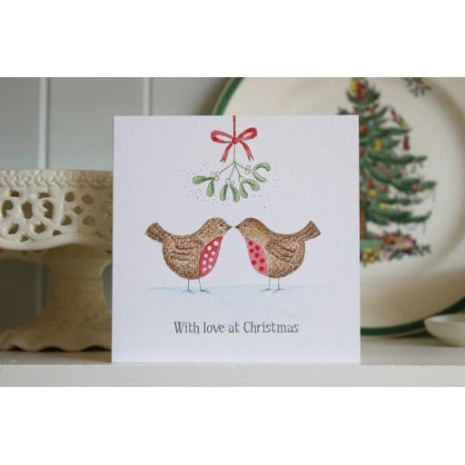 CH6 Christmas Lovebirds