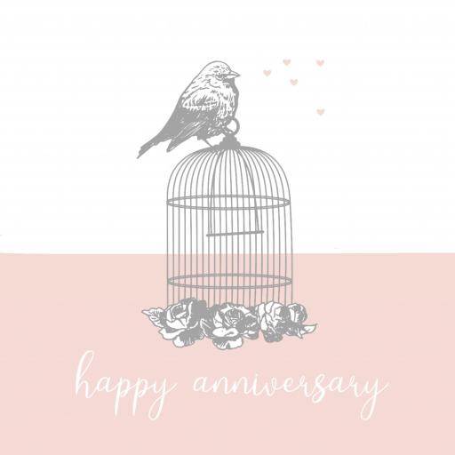 A1 Anniversary Birdcage