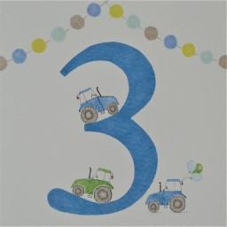 BB33  Boys No.3 Tractors