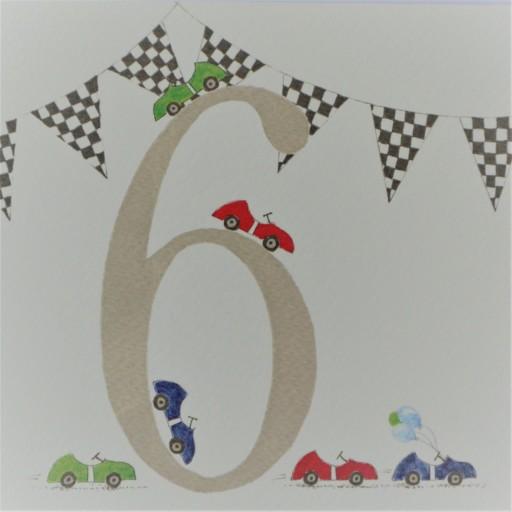 BB36  Boys No.6 Racing Cars