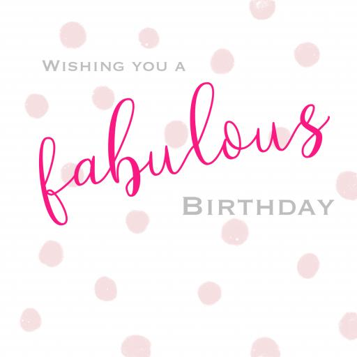 BG25 Fabulous Birthday