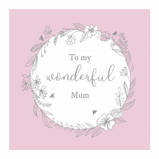 MUM2 Wonderful Mum Garland