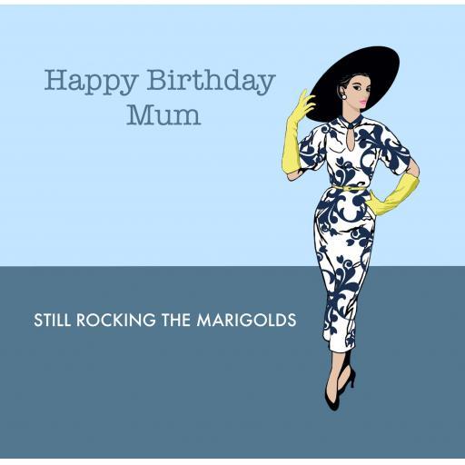 MUM1 Marigold Mum